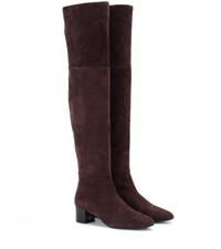Tom Ford Suede Over The Knee Boots Brown
