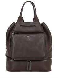 Trussardi Leather Bucket Bag