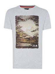 Army And Navy Scenery Graphic Tee Oatmeal