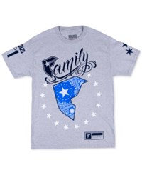 Famous Stars And Straps Famous Stars And Straps Men's Wild Patriot T Shirt Heather Grey