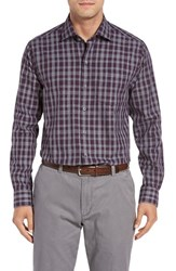 Cutter And Buck Men's Big Tall Terrain Plaid Sport Shirt