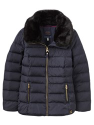 Joules Oakwell Quilted Jacket Marine Navy
