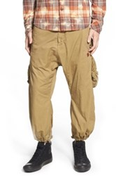 Prps 'Urania' Slouchy Jogger Pants Brown