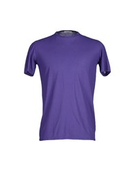 Gran Sasso Topwear T Shirts Men Purple