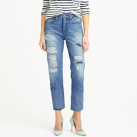 J.Crew Point Sur Shoreditch Selvedge Jean In Warnell Wash