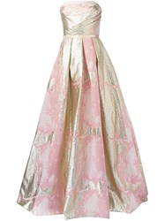 Marchesa Notte Princess Ball Gown Pink And Purple