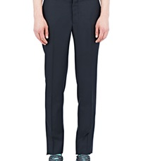 Aiezen Tailored Mohair Pants Black