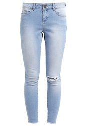 Dorothy Perkins Riley Slim Fit Jeans Blue Light Blue