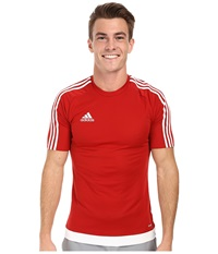 Adidas Estro 15 Jersey Power Red White Men's Short Sleeve Pullover