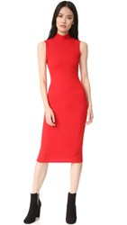Getting Back To Square One Sleeveless Dress Haute Red