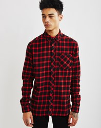Eleven Paris Molok Check Shirt Red