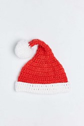 Urban Outfitters Christmas Slouchy Beanie Red