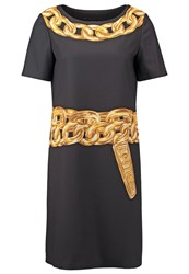Boutique Moschino Cocktail Dress Party Dress Black
