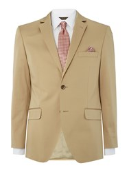 Corsivo Omar Sb2 Cotton Stretch Suit Jacket Stone