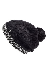 Lole Cable Knit Beanie Black