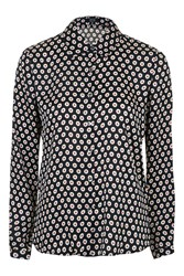 Olivia Black Dot Daisy Blouse By Goldie