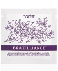 Tarte Brazilliance Skin Rejuvenating Maracuja Self Tanning Face Towelettes 10 Face Towelettes