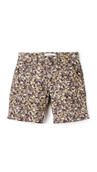 French Trotters Paul Shorts Flower Camo