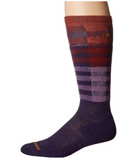 Smartwool Phd Slopestyle Light Ifrane Mountain Purple Men's Knee High Socks Shoes