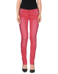 Zu Elements Zu Elements Trousers Casual Trousers Women Coral