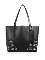Jimmy Choo Studded Leather Tote Black