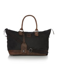 Lyle And Scott Canvas Holdall Black