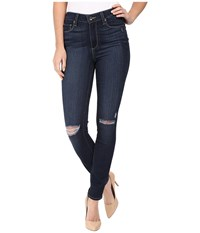 Paige Hoxton Ankle In Aveline Destructed Aveline Destructed Women's Jeans Blue