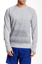 Brooks Joyride Sweatshirt Gray