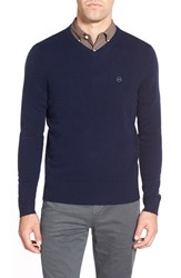 Ag Jeans Men's Ag 'Arbor' Wool And Cashmere V Neck Sweater Naval Blue