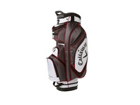 Callaway Chev Org Cart Bag Charcoal Red White Athletic Sports Equipment