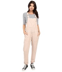 Obey Antwerp Overalls Ross Dust Women's Overalls One Piece Pink