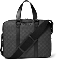 Gucci Gg Suprema Textured Leather Briefcase Black
