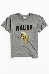 Rxmance Malibu Heavy Box Tee Grey
