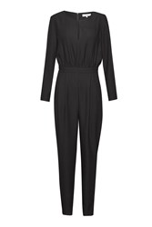 Great Plains Tuxedo Junction Jumpsuit Black