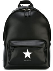 Givenchy Star Patch Backpack Black