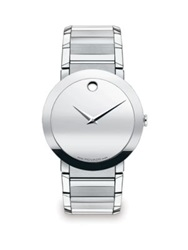 Movado Sapphire Stainless Steel Watch