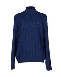 Polo Ralph Lauren Knitwear Turtlenecks Men Blue