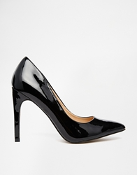 Truffle Collection Nova Court Shoes Blackpatent