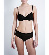 Wolford Tulle Cup Underwired Bra Black