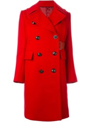 Sacai Military Coat Red