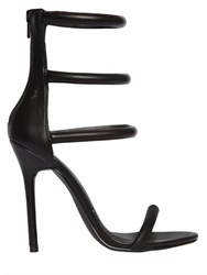 Nasty Gal 110Mm Ensor Faux Leather Sandals