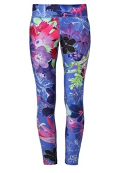 Desigual Esther Tights Royal Blue
