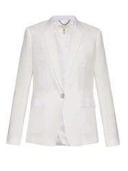 Rag And Bone Windsor Single Breasted Cady Blazer White