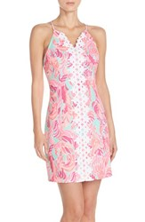 Women's Lilly Pulitzer 'Pearl' Cotton Dobby Sheath Dress