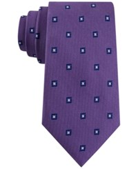 Club Room Men's Admiral Classic Neat Tie Only At Macy's Purple