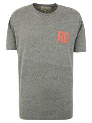 Racing Green Cartner Logo T Shirt Charcoal