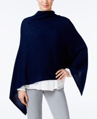 Charter Club Cashmere Poncho Only At Macy's Admiral