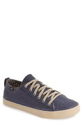 Sanuk Men's 'Staple Tx' Sneaker Blue Canvas