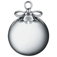 Alessi 'Dressed For Christmas' Orb Christmas Decoration Silver