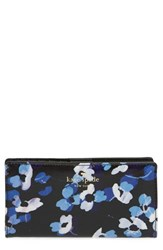 Kate Spade Women's New York 'Cedar Street Floral Stacy' Coated Canvas Wallet